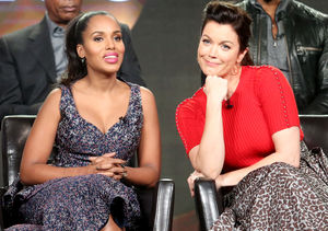 Kerry Washington & Bellamy Young Dish on Shocking 'Scandal' Secrets