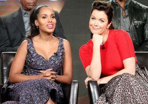 Kerry Washington & Bellamy Young Dish on Shocking 'Scandal' Secrets