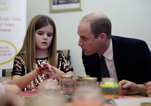 Prince William Comforts Grieving Children with His Own Sadness