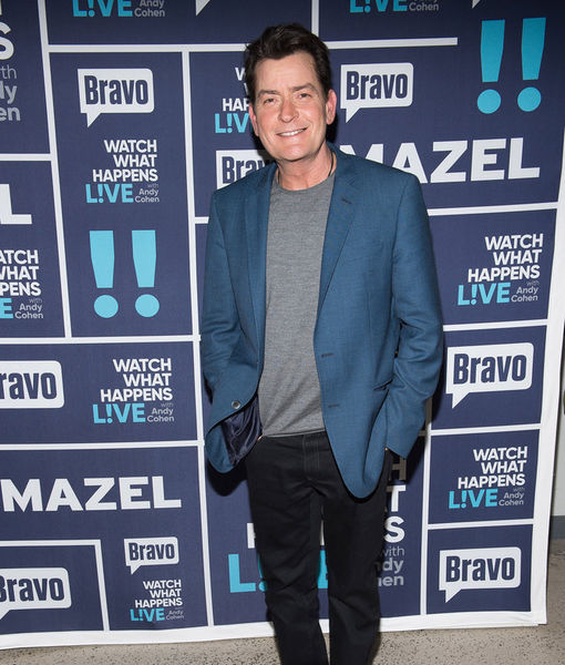 Charlie Sheen Disses Rihanna & Nearly All His Former Costars Except One on 'Watch What Happens Live!'
