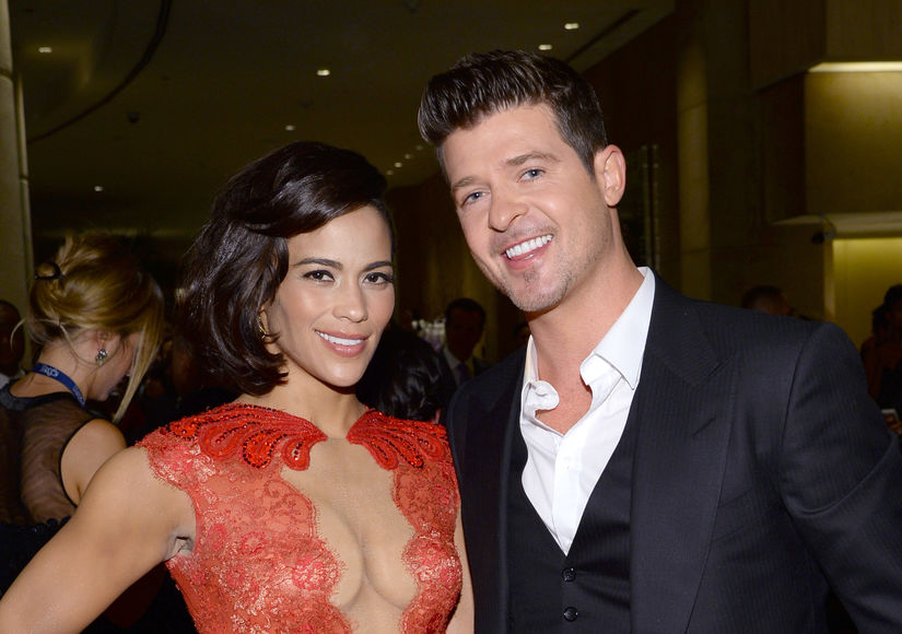 How Robin Thicke & Paula Patton Are Trying to Smooth Over Bitter Custody…