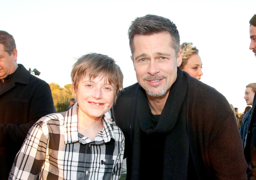 Brad Pitt Continues Easing Back into Public Life
