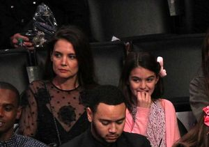 Katie Holmes & Mini-Me Daughter Suri's Rare Public Appearance