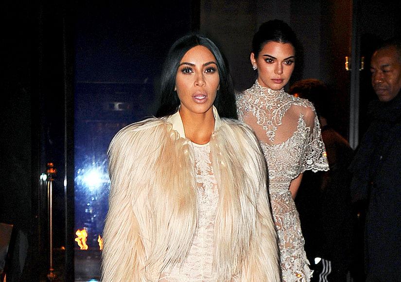 Kim Kardashian & Kendall Jenner Shoot 'Ocean's Eight' Cameos in NYC