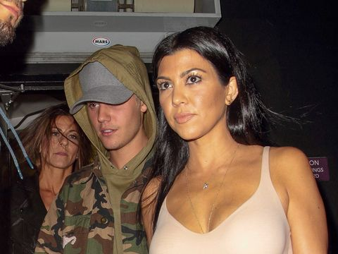 kourtney kardashian embarrassed justin bieber hookup rumors