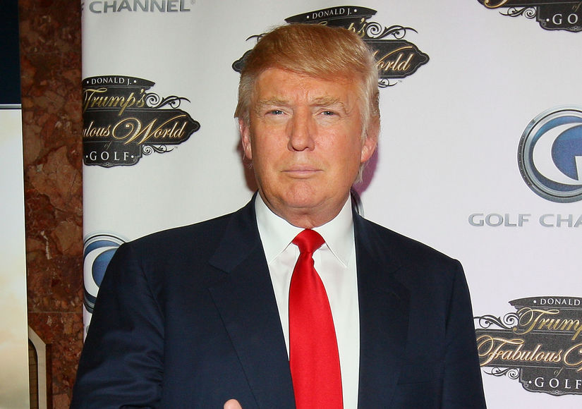 'Extra' with Donald Trump over the Years