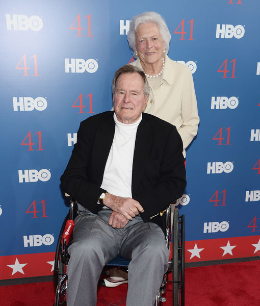 Barbara Bush Released from Hospital, George H.W. Bush Moved Out of ICU