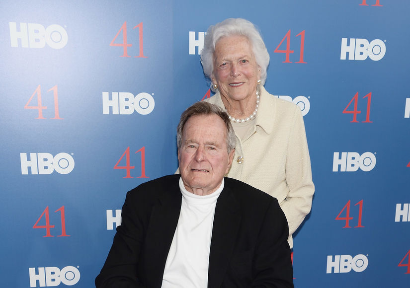 George H.W. Bush & Wife Barbara Hospitalized