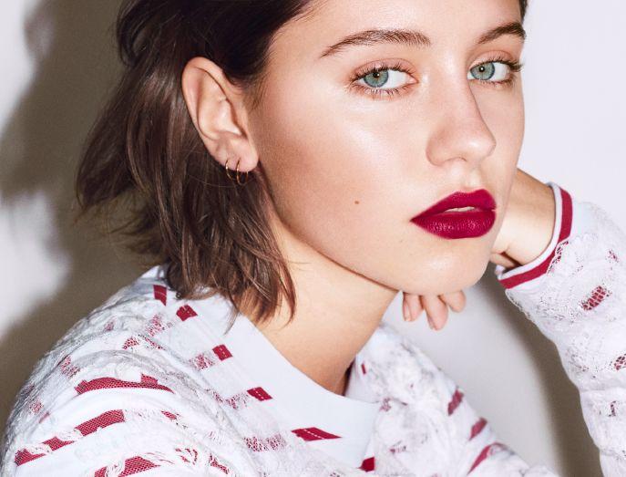 Jude Law's Daughter Iris Is the New Face of Burberry Liquid Lip Velvet