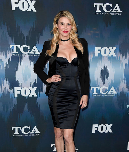 Brandi Glanville Shows Results of Skin Tightening Procedure