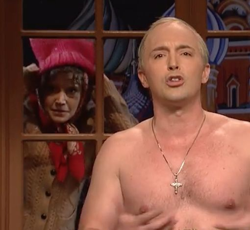 'SNL' Goes After President Trump Post-Inauguration