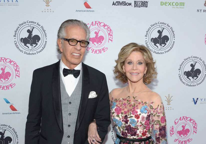Jane Fonda & Richard Perry Split