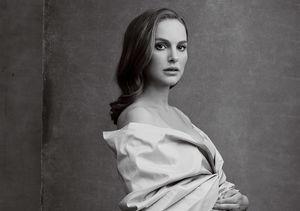 Natalie Portman Bares Her Baby Bump Like Demi Moore