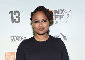 Ava DuVernay Celebrates Oscar Nomination for '13th' on 'A Wrinkle in Time' Set