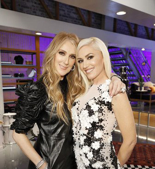 Céline Dion Signs on as Gwen Stefani's Advisor for 'The Voice' Season 12
