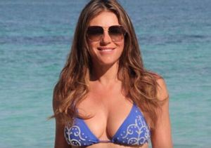 Elizabeth Hurley & Sharon Stone Flaunt Their Sexy Bikini Bodies in Their 50s