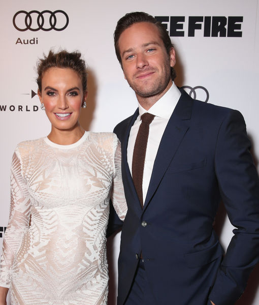 Armie Hammer & Wife Reveal Son's Cute Name