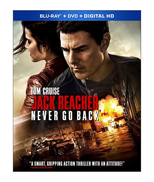 Win It! 'Jack Reacher: Never Go Back' on Blu-ray and DVD