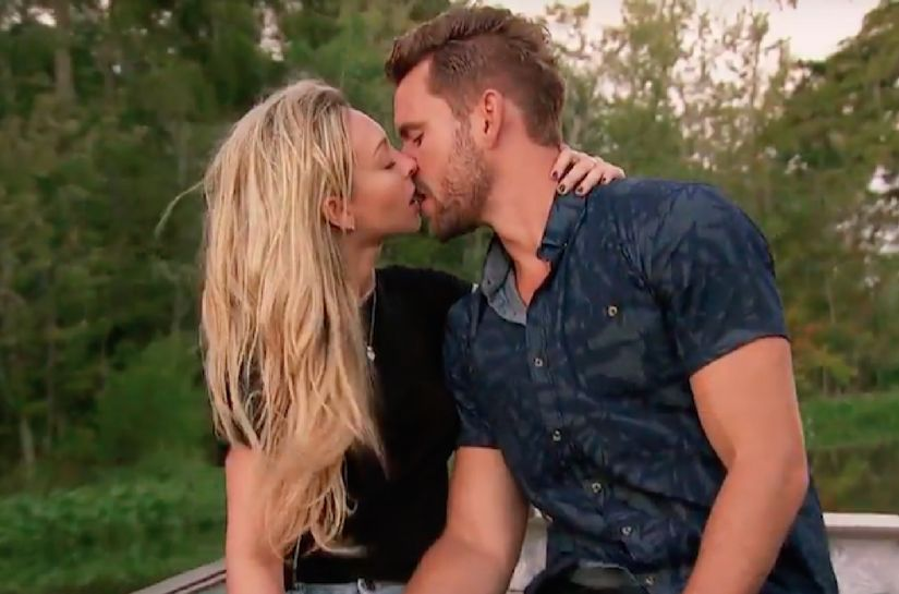 'Bachelor' Villain Seeks to 'Make America Corinne Again' with Fight on Date, Plus: Her Ex Speaks Out