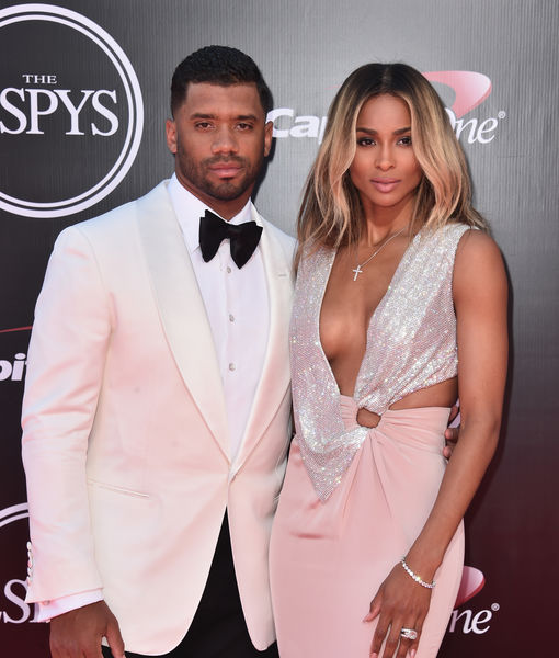 Seahawk Russell Wilson Reveals Baby Details with Ciara, & Super Bowl Prediction