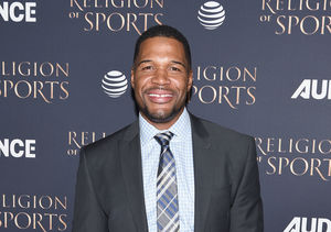 Michael Strahan's Twins Advice for Beyoncé, Plus: His Super Bowl Prediction