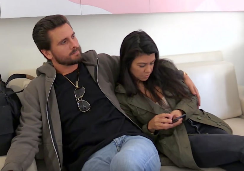 Scott Disick Calls Kourtney Kardashian 'Love of My Life' in Spite of Makeout Session with Jessica Harris