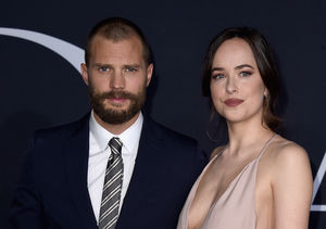 "Will Jamie Dornan & Dakota Johnson's Families Watch ""Fifty Shades…"