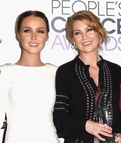 Ellen Pompeo & Camilla Luddington Hilariously Recreate Beyoncé Announcement