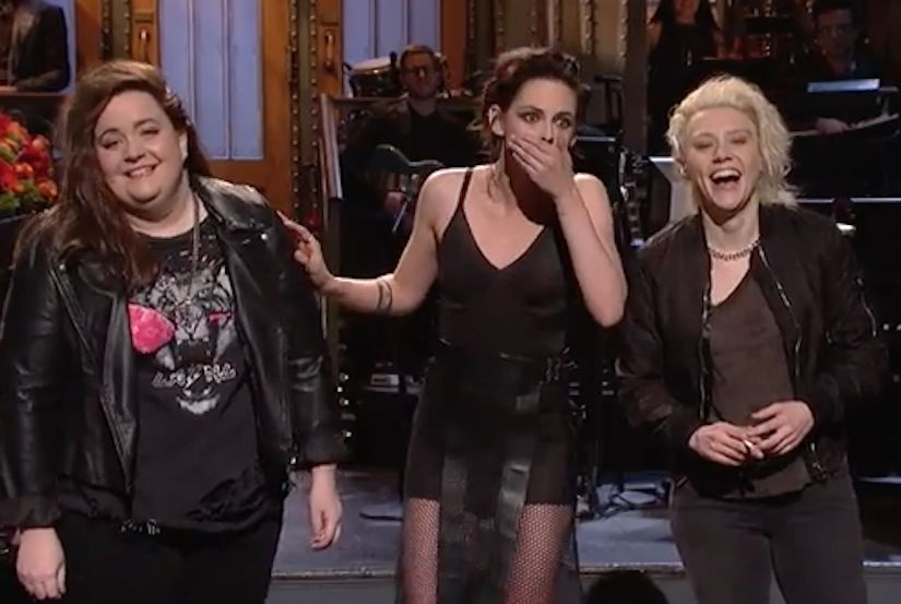 Kristen Stewart Drops F-Bomb, Comes Out as 'Like, So Gay, Dude' on 'SNL'