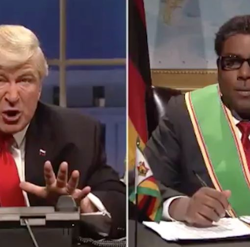 'SNL' Imagines Foreign Leader Calling President Trump a 'Little White B*tch'