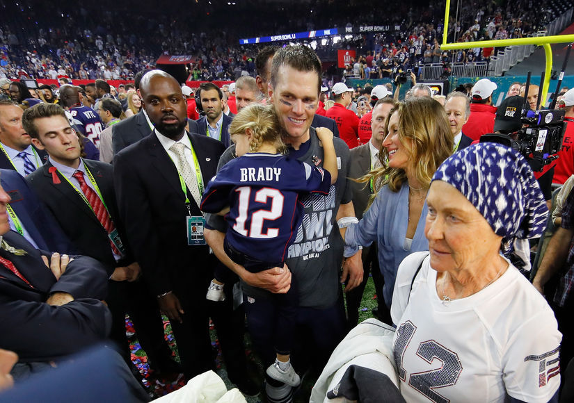 Tom Brady Won the Super Bowl for His Mom, Who Is Battling Cancer