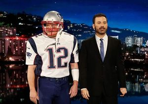 Video! Matt Damon Crashes 'Jimmy Kimmel Live!' as Tom Brady