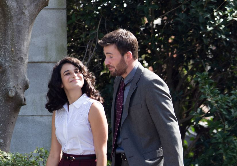 Chris Evans & Jenny Slate Split