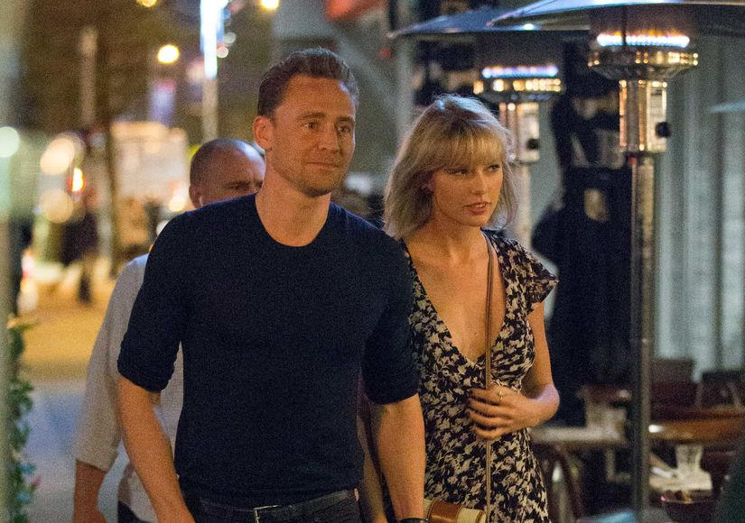Tom Hiddleston Spills the Beans on Taylor Swift Relationship and That 'I Heart T.S.' Tank Top