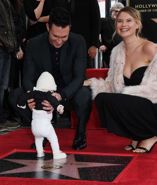 Adam Levine's Baby Daughter Makes Public Debut at His Hollywood Walk of Fame…
