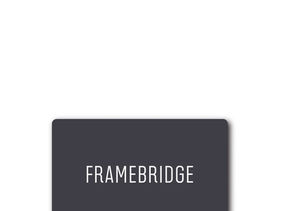 Win It! A $100 Framebridge Gift Card