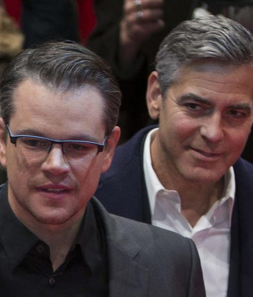 Matt Damon Thinks George & Amal Clooney Will Be 'Fantastic Parents!'