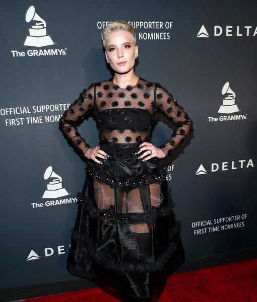 Grammy-Nominated Halsey Talks New 'Fifty Shades Darker' Song