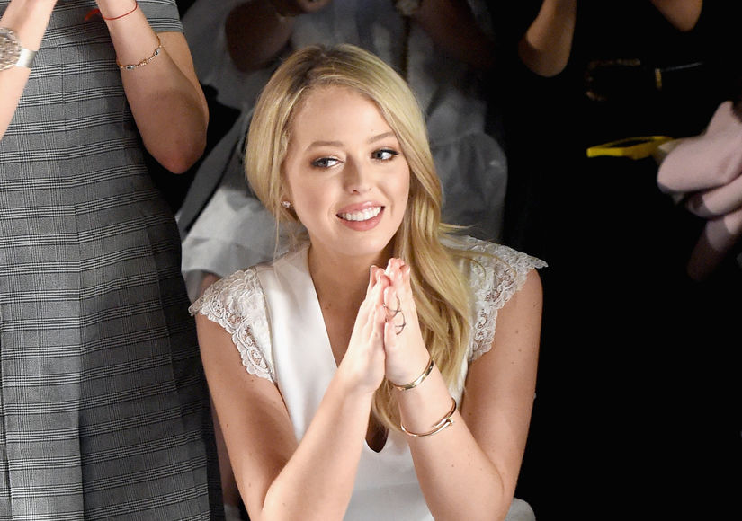 Tiffany Trump Offers Performance Evaluation... of Her Dad!