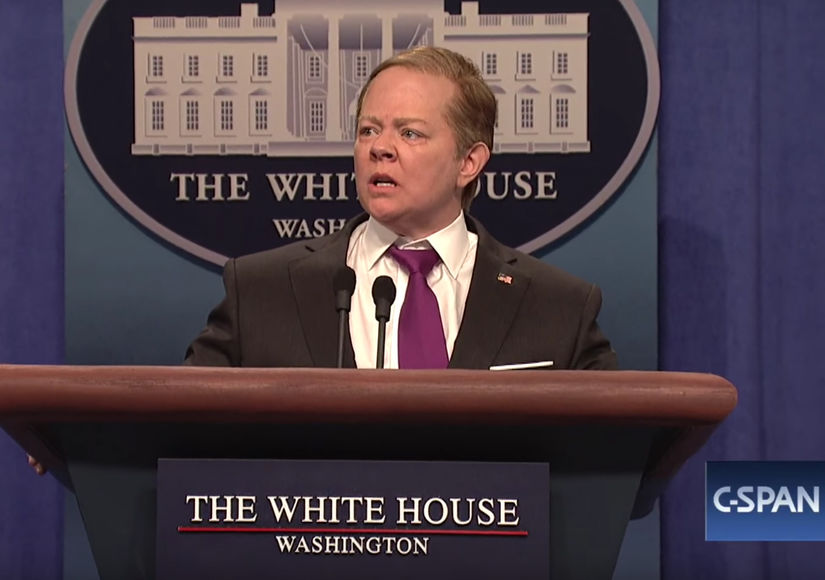 Melissa McCarthy explains how she became Sean Spicer on 'SNL'