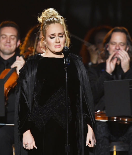 Adele Drops F-Bomb, Asks to Restart George Michael Grammys Tribute