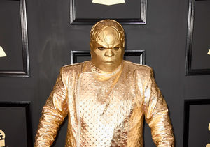 Ceelo Green Is Unrecognizable as Gnarly Davidson at the Grammys