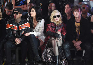Madonna at NYFW in First Public Appearance After Adopting Twins