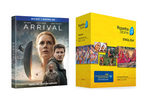 Win It! 'Arrival' Blu-ray with Rosetta Stone Subscription