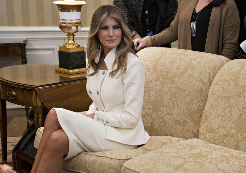 Melania Trump Hospitalized