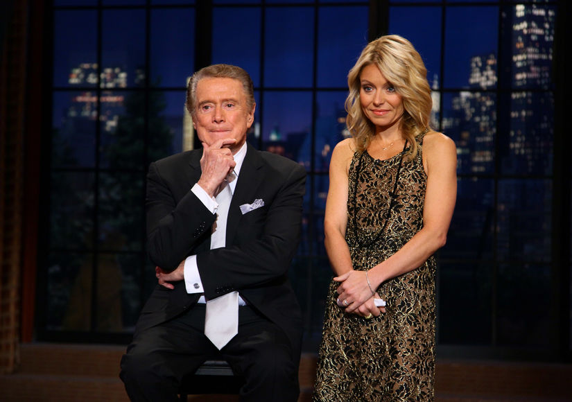 Why Regis Philbin Doesn't Keep in Touch with Kelly Ripa After Leaving 'Live!'