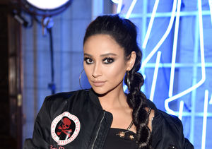 'Extra' Freaky! Watch Shay Mitchell Scare Tanika Ray