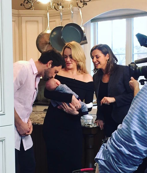 Peta Murgatroyd & Maksim Chmerkovskiy's Baby Boy Shai Makes His TV Debut