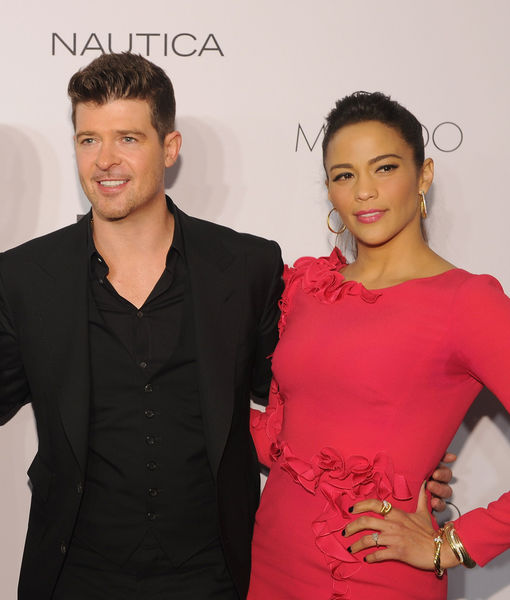 Robin Thicke & Paula Patton Custody Drama — Police Called