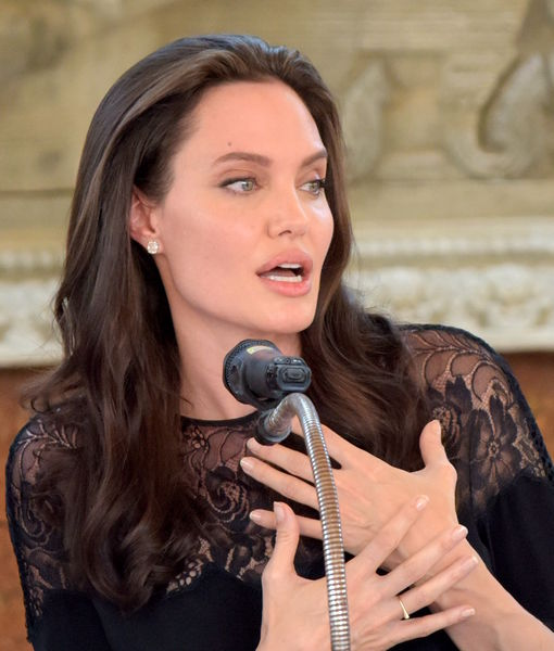 Angelina Jolie Makes Public Appearance (with Her Kids!) Post-Split